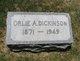 Orlie A. <I>Decker</I> Dickinson