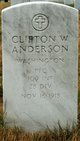 Clifton W Anderson