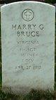 Sgt Harry G Bruce