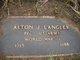 Profile photo:  Alton J. Langley