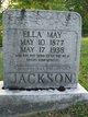 Ella May <I>Shumate</I> Jackson