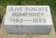 Olive <I>Roberts</I> Humphrey