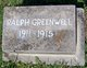 Ralph James Greenwell