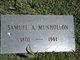 Samuel A Munhollon