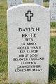 Profile photo:  David H. Fritz