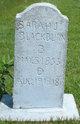Sarah Jane <I>Dotson</I> Blackburn