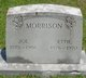 "Sarah Leoatie ""Ettie"" <I>Blackburn</I> Morrison"