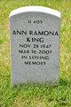 Profile photo:  Ann Ramona King