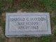 Harold Grady Haydon