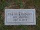 Hettie Preston <I>Tyson</I> Haydon