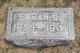 Sarah E. <I>Phillips</I> Almack