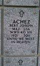 Profile photo:  Bert Joseph Achez