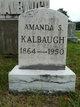 Profile photo:  Amanda Susan <I>Kight</I> Kalbaugh