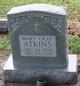 Profile photo:  Mary <I>Gray</I> Atkins