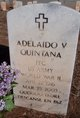 Profile photo:  Adelaido V. Quintana