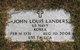 John Louis Landers