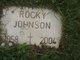 """Rodney Dale """"Rocky"""" Johnson"""