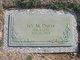 Ivy M. <I>Finney</I> Davis