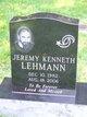 Profile photo:  Jeremy Kenneth Lehmann