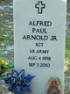 Profile photo: Sgt Alfred Paul Arnold, Jr