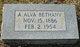 Profile photo:  A. Alva <I>Germany</I> Bethany