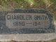 """Chandler """" """" <I> </I> Smith,"""