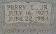 Sgt Perry C. Alford, Jr