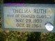 Thelma Ruth <I>Johnson</I> Clayton