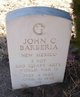 Profile photo:  John Charles Barberia