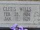 Cletis Wills