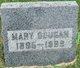 Profile photo:  Mary <I>Adams</I> Dougan