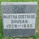Profile photo:  Martha Gertrude Dougan