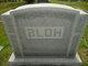 Profile photo:  Albert George <I>Carl</I> Bloh