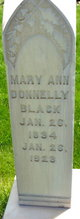 Mary Ann <I>Donnelly</I> Black