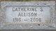 Profile photo:  Catherine Elizabeth <I>Stone</I> Allison