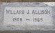 Willard Jones Allison