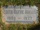 Edith May Forkes <I>Reeve</I> Sheley