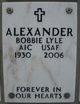 Profile photo:  Bobbie Lyle Alexander