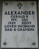 Profile photo:  Gerald K Alexander