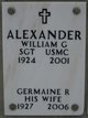 Profile photo:  Germaine R Alexander