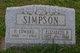 Harry Edward Simpson