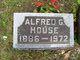 """Alfred G """"Fred"""" House"""