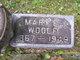 Mary E <I>Minegar</I> Woolf