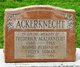 Profile photo:  Frederick Ackerknecht, Jr
