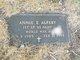 Profile photo:  Annie E. <I>Farrington</I> Alfeby