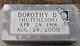 Dorothy Daisy <I>Hutcheson</I> LeZotte