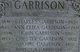 Caroline <I>Camp</I> Garrison
