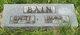 Elanor Jane <I>Barlow</I> Bain
