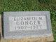 Profile photo:  Elizabeth M <I>Masoian</I> Conger