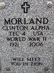 Clinton Alpha Morland